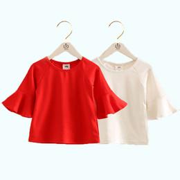 Canada T-shirt d'été enfants coréens filles petits enfants Odell haut-parleur installé manches courtes vêtements pour enfants T-shirt livraison gratuite supplier free shipping korean kids clothes Offre