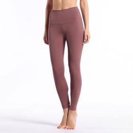 sport bhs männer Rabatt Frauen Yoga Pants LU Fest mit hohen Taille Sport Fitness Wear Leggings Damen Align Elastic Gym Laufhosen Fashion Marke beiläufige Strumpfhose 05
