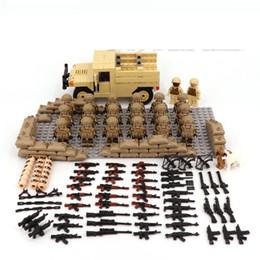 Désert Nous Forces Spéciales Armée Militaire Arme Accessoires Bricolage Mini Figurines Building Block Brique Original Mini Figurines Jouets MX190730 ? partir de fabricateur