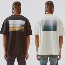 mens wholesale designer clothes Coupons - Mens Summer Fashion Brand Print T-Shirts Designer Casual Male Tops Breathable Short Sleeve Mens Loose Clothing