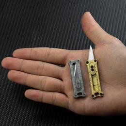 Argentina Mini Cuchillo Papel Plástico Textil Herramienta de curva Cuchillas Cuchillas de bisturí Interior Frutero Bolsillo Grabado Artesanía Mano Campamento al aire libre Herramientas EDC Suministro