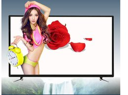Lcd tv 32 online-32-75 pulgadas LCD TV 4K red inalámbrica WIFI LED Smart TV