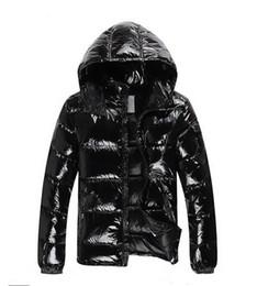 jaqueta zip completo Desconto Top qualidade produtos de designer de moda de Nova Men Jacket Baixo Baixo Coats Mens Outdoor Grosso quente Brasão Feather Man Inverno
