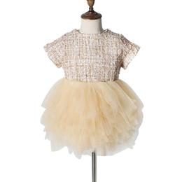 Moda para niños pequeños para bebés niñas princesa fiesta de malla linda desfile vestido de tutú 2019 venta caliente desde fabricantes
