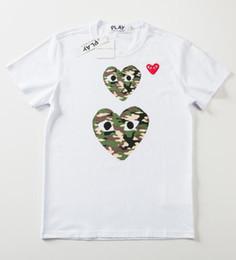 2019 venda de camisas engraçadas 2019 Venda Quente de verão Mens T camisas Das Mulheres camiseta marca de Alta Qualidade 100% algodão de Manga Curta Tees Coração Impressão Engraçado T-shirt 24 cor venda de camisas engraçadas barato