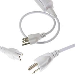 Fios do conector on-line-3 pinos LED Cabo de extensão, Fio de conexão da lâmpada, Cabo conector duplo para T5 T8 Lâmpada LED integrada para tubo