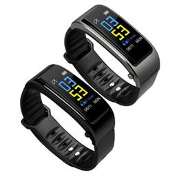 Canada Bluetooth Y3 Couleur Casque Parler Smart Band Bracelet Moniteur De Fréquence Cardiaque Sport Montre Smart Watch Passomètre Fitness Tracker Bracelet Haut supplier top fitness bands Offre