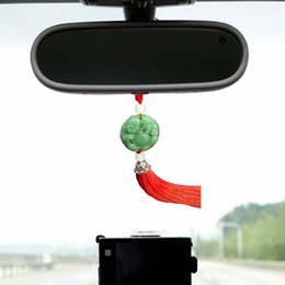 Ornamento de buddha do jade on-line-Criativa ornamentos carro Pendant High-End homens de Jade Cristal Car Acessórios ornamentos Buddha