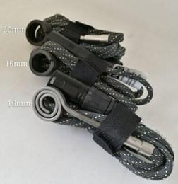 E-Nails Calentador de bobina 10mm 16mm 20mm 110V 100W 240V 5 Pin XLR Enchufe del calentador de enchufe macho ENALLA con termopar tipo K desde fabricantes