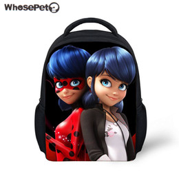 a2d17e24e8ec WHOSEPET School Backpack Miraculous Ladybug Kids School Bags Kindergarten  Bookbag Baby Girls Backpacks Children Bolsa Infantil Y18120303