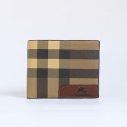 Desenhos livres bolsa on-line-Listagem do novo Design de carteira de moda B carteiras de couro para Homens homem de cartão de crédito bolsas Sacos de Carteiras presente das mulheres frete grátis