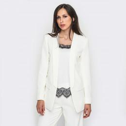 Il tailleur professionale delle signore dei vestiti di affari delle donne con 2 pezzi ansima l'usura convenzionale uniforme del lavoro dell'ufficio delle donne dei pantaloni da