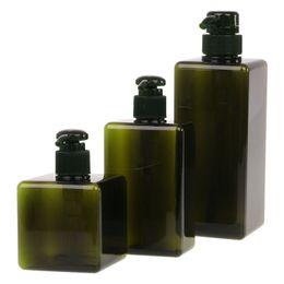 Garrafas de bomba de plástico para shampoo on-line-250 ml / 280 ml / 650 ml Loção Recipiente Grande Bomba De Plástico Shampoo Garrafa Garrafa de Viagem Recarregável 3 Cores