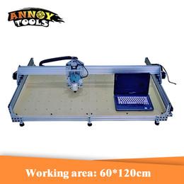 2019 taglio di metallo cnc 60 * 120 cm 600 W macchina per incidere di CNC fresatrice di legno del router di legno di DIY per il taglio e l'incisione del metallo sconti taglio di metallo cnc