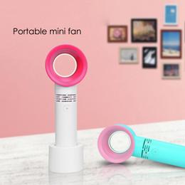 Canada Ventilateur portatif sans ventilateur Zero9 USB Mini régulateur de poche tenu dans la main avec niveau de vitesse de 3 ventilateurs Offre