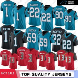 Cam newton jerseys on-line-Carolina 22 cristãos McCaffrey panteras Homens Jerseys 59 Luke Kuechly 1 Cam Newton 90 Julius Peppers 14 Fitzpatrick 3 Jameis Winston 13 Evans