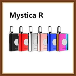 Batteries rs en Ligne-Authentique Airis Mystica R Vape Mod 450mAh VV Préchauffer La Tension De La Batterie Variable Huile Épaisse Cartouche Mystica Air Vape Pen Kit De Démarrage
