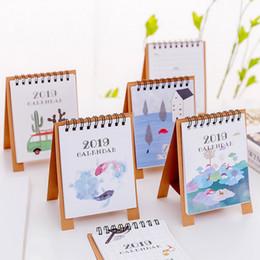 Schöne Neue 2019 Kalender Cartoon Zeichen Desktop Papier Kalender Dual Täglichen Scheduler Tisch Planer Jährlich Agenda Organizer Office & School Supplies