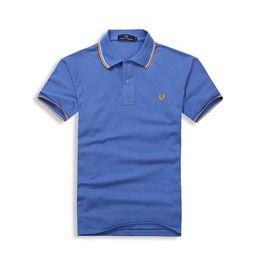 2019 camisas empresariais de qualidade para homens Fred Perry polos dos homens de alta qualidade uk Marca clássico de alta qualidade camisa dos homens de Venda de Lazer homem polos Negócio Selvagem polo camisa dos homens tees 55 camisas empresariais de qualidade para homens barato