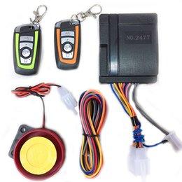 Una forma de motocicleta Scooter de alarma de bloqueo de seguridad de alarma de coche Moto Control remoto sistema de alarma desde fabricantes