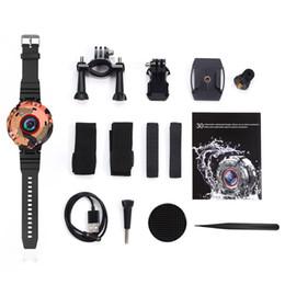 Reloj impermeable hd dvr online-Dashcam WIFI mini cámara para los deportes de la acción DVR de la cámara Dash Full HD 30M dvr del coche impermeable reloj Camara DV videocámara usable de coches