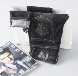 Jeans de créateur de mode bleu foncé pour femmes ? partir de fabricateur