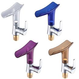 rubinetti in acciaio inossidabile spazzolato Sconti Spedizione gratuita rubinetti del bacino rubinetto cascata per bagno lavabo miscelatore singolo manico lavello miscelatore rubinetto deck mounted bagno