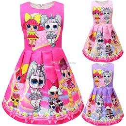 Puppenweste online-Baby Mädchen Puppe Weste Kleid Kinder ärmellose Prinzessin Kleider Cartoon 2019 Mode Boutique Kinder Kleidung 11 Farben C6514