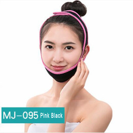 face slimmer belt Promo Codes - New Face Lift Up Belt Sleeping Face-Lift Mask Massager Slimming Face Shaper Relaxation Facial Slimming Bandage for Women Men