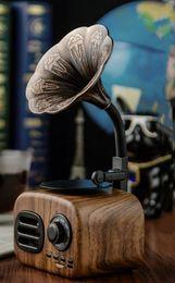 2019 lettore mp3 al litio 2019 un nuovo vintage grammofono bluetooth audio radio regalo creativo connessione audio bluetooth conveniente e pratico