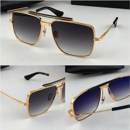 2019 k frame Novos óculos de sol populares de luxo TYPE403 homens design K ouro moldura quadrada retro moda avant-garde estilo de alta qualidade UV 400 lente eyewear desconto k frame