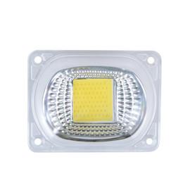 3mm geführtes super helles weiß Rabatt 20 Watt 30 Watt 50 Watt COB LED-Lichtmatrix Mit Linsenreflektor 110 V 220 V Smart IC High Power Diodenarray Chip Lampe DIY Flutlicht
