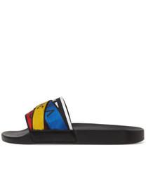 2019ss herren und damenmode multicolor gurtband rutschen sandalen sommer strand kausal hausschuhe größe euro 35-45 von Fabrikanten