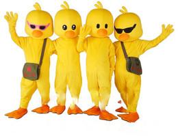 Canada Costume de mascotte de personnage de dessin animé de canard jaune fantaisie tenue de soirée Offre