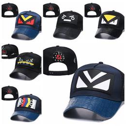 paar mütze für den sommer Rabatt NewLuxury 2019 Markendesigner-Sommer-Art-beiläufige Kappe Populäre Paare Maschen-Baseballmütze Avantgarde-Patchwork-Art- und Weisehip-Hop-Kappen-Hut