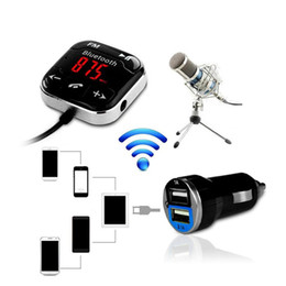 2019 audio-promotionen Mini Bt760 Auto-MP3-Musik-Player Wireles freihändige Telefonkarte FM-Transmitter mit Dual USB-Lade