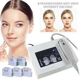 2020 visage hifu 2019 NOUVEAU portable HIFU machine 10000 Shots haute intensité focalisée ultrasons hifu lifting visage peau levage machine ride rides beauté promotion visage hifu