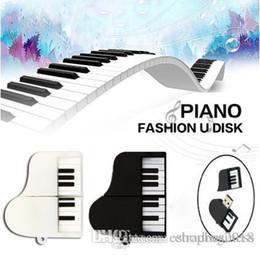 2019 музыкальный usb-джойстик Пианино USB Flash Drive Модная музыка Pendrive USB-флешка Ручки 64ГБ USB-флешка скидка музыкальный usb-джойстик