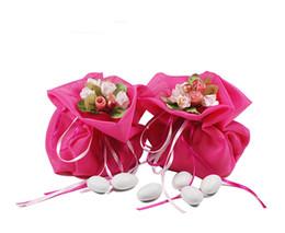 Fábrica saco barato on-line-Fornecedor Fábrica barato Lembrança saco de amor Italiano 20 peças estilo europeu saco de doces de casamento Grande caixa de doces de aniversário