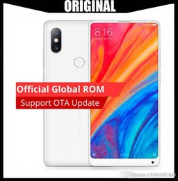 "mini-handy-bar Rabatt Globale Version Xiaomi Mi Mix 2S Löwenmaul 845 5.99 ""FHD Vollbild Octa Core Handy 6GB 64GB NFC FDD LTE 4G Mix2S"