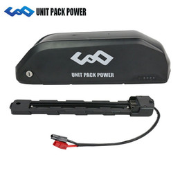 2019 3.7v batería de iones de litio aa 2019 El más nuevo 52V 17.5Ah Hailong Battery 52V Ebike Shark Battery con Samsung Cell + 30 / 40A BMS para motores 1000W 1200W
