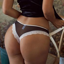 2019 più la biancheria intima di perla di formato Slip donna stile INS con bordi in pizzo Slip a vita bassa sexy per intimo donna di alta qualità