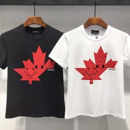 2019 camisetas estados unidos Camiseta de manga corta D2 para hombre, verano 2019, Europa y Estados Unidos. Camiseta de manga corta para hombre, cuello redondo, cuello alto. camisetas estados unidos baratos