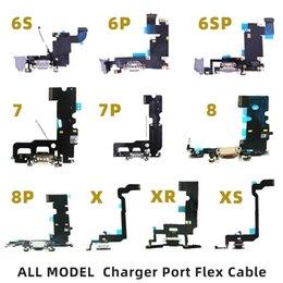 2019 замена камеры iphone oem Высокое качество зарядки порт Flex кабель для IPhone 6 Dock Connector 6P 6S 6SP 7P 8 8P X XR XS MAX зарядное устройство передачи данных USB с наушников Audio Free