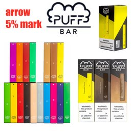 New Puff Bar descartável Esvaziar Pod Starter Kit Arrow e 5% mark 280mAh bateria com 1,3ml Cartucho Dispositivo Pods III Geração 19 estilo de