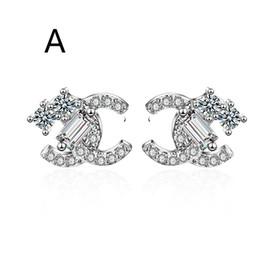 Ohrringe vereinigte staaten online-2019 Designer Ohrringe Luxus Designer Schmuck Frauen Ohrringe Luxus Ohrringe in Europa und den Vereinigten Staaten beliebtes Weihnachtsgeschenk