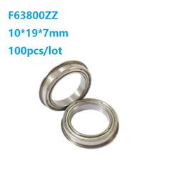 10PCS 696ZZ Deep Groove Miniature Ball Bearing 6X15X5mm Metal Mini Bearing FU