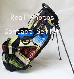 Golfe c on-line-Frete grátis rápido O mais recente modelo S C saco de golfe Standbag fotos reais Contactar vendedor