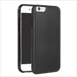 zauberstab telefon Rabatt Anti-Schwerkraft-Telefon-Kasten für iPhone Xs maximales Xr 8 7/7 plus 6s 6 plus Rand-magische Stöcke Samsungs S8 S7 Anti-Schwerkraft-Nano-Saugnapf-Abdeckungs-Großhandel