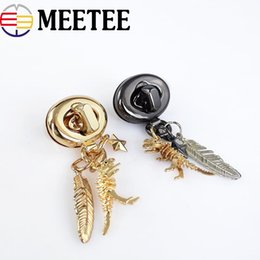 Meetee Fashion Bag Twist Locks Borsa a mano in metallo Serratura a scatto con cerniera borsa fibbia fibbia borsa gancio decorativo diy artigianato in pelle cheap clasps for purses da fermagli per borse fornitori